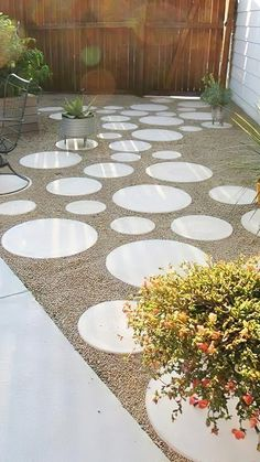 Concrete Patios, Poured Concrete Patio, Pergola Patio, Diy Patio, Backyard Patio, Backyard Landscaping, Backyard Hammock, Backyard Ideas, Landscaping Design