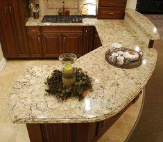 "Cambria ""Bradshaw"" ~ (Design Center at Hartville Hardware) Fixer Upper, Small Kitchen Cabinets, Long Kitchen, Narrow Kitchen, Cheap Kitchen, Oak Cabinets, Open Kitchen, Galley Kitchen Remodel, Ranch Kitchen"