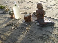 A ritual for the Orisha goddess, Yemaya...mother of all creatures who live in, near, or because of the oceans...