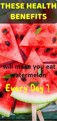 Watermelon's health benefits - Health Watermelon Health Benefits, Turmeric Health Benefits, Health And Nutrition, Health And Wellness, Health Fitness, Fruit Nutrition, Health Care, Foods For Brain Health, Good Brain Food