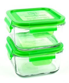 Take a look at this Pea 16-Oz. Lunch Cube - Set of Two by Wean Green on #zulily today!