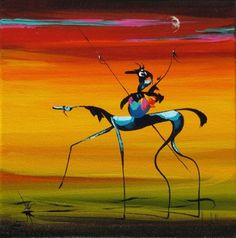 Artist: Arlene LaDell Hayes. Have loved her work for a long time, since the first time we came across it in Santa Fe.