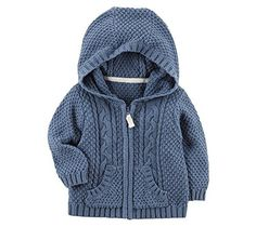Carter's Baby Boys' Zip up Cable Knit Cardigan, . Carter's Baby Boys' Zip up Cable Knit Cardigan, Diy Abschnitt, Carters Baby Blanket, Carters Baby Boy Clothes, Baby Boy Bibs, Baby Girl Pajamas, Baby Boy Shoes, Baby Boy Blankets, Boys Shoes, Baby Boy Jumpsuit, Baby Boy Overalls