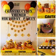 construction party Free printables (this one actually works)