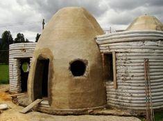 sandbag houses | architectura de Equilibrio adobe