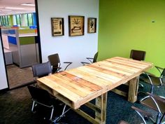 Weekend Project: 19 DIY pallet desks – a nice way to save money and to customize your home office