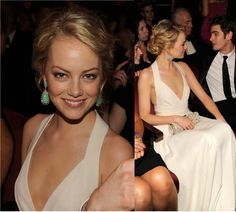 Updo for Jack's wedding - ScarletStiletto: Emma Stone in Narciso Rodriguez - 2012 Tony Awards