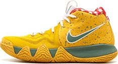 #men's #male's #sneakers  #Yellow #shoes  #casual shoes #favorite #design #fashion #ideas #style #cool #footwear Yellow Lobster, Nike Shoes, Sneakers Nike, Latest Sneakers, Nike Kyrie, Red Things, Yellow Things, Basketball Shoes, Nike Men