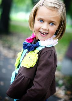 If I'm blessed with a little girl one day, she'll have a cute bob like her mama did!
