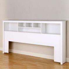 free bookcase headboard plans | DIY projects | Pinterest ...