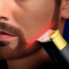 Philips Laser-Guided Beard Trimmer. No way so cool