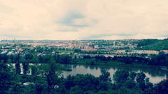 It's a panoramatic photo from the ZOO showing the beauty of Prague and our river Vltava <3