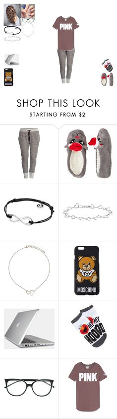 """At Home Before School"" by harley-98 ❤ liked on Polyvore featuring H&M, Capelli New York, Georg Jensen, Topshop, Moschino, Speck, Forever 21 and Yves Saint Laurent"