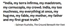 my favorite salman rushdie quote.