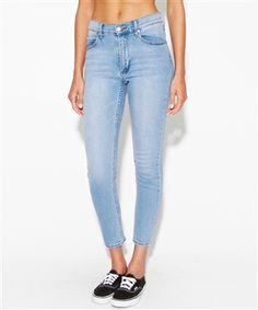 STONEWASH SECOND SKIN CROP | Jeans | Clothing | Shop Womens | General Pants Online