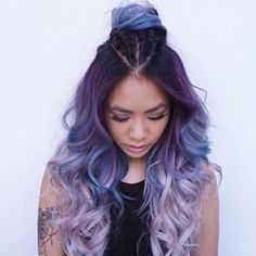 Colour envy! Can we have this please. What do you think? #hairinspo