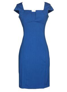 Berry Blue Midi Dress