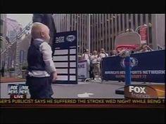 Fox News Anchor Injures Trick Shot Titus
