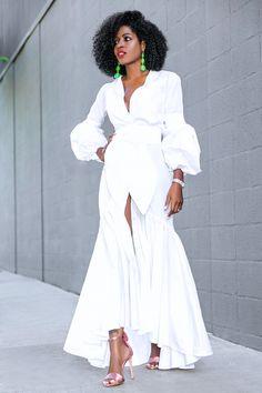 White Dresses - Little White Dresses Classy Outfits, Chic Outfits, Dress Outfits, Fashion Dresses, Classy White Dress, All White Outfit, White Maxi Dresses, Summer Dresses, White Fashion