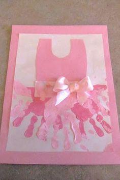 Ballerina tot school week  Easy craft idea for the girls.