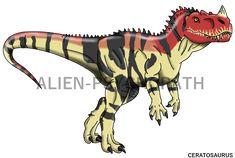 Jurassic Park: Ceratosaurus by Alien-Psychopath on DeviantArt Cool Dinosaurs, Jurassic Park Poster, Jurassic World 2015, Indominus Rex, Pokemon, Dinosaur Crafts, Fantasy Drawings, Falling Kingdoms, Jurassic World