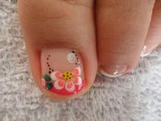 Toe Designs, Nail Art Designs, Toe Nail Art, Creative Nails, Love Nails, Veronica, Nailart, Nail Arts, Designed Nails