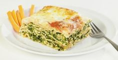 Lasagne_florentine_vegetarienne Nutrition, Mets, Tofu, Quiche, Pizza, Vegan, Breakfast, Sauces, Yummy Recipes