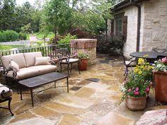 mediterranean-style garden   covered pergola - Spanish Style Patio Ideas