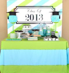 {Black Book Of Parties} Graduation Party Ideas by House Of Creative Designs #graduationparty #graduationpartyideas #graduation