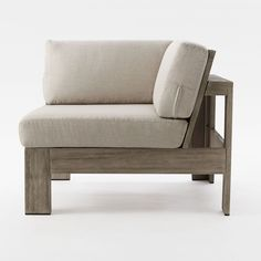 Build Your Own Portside Outdoor Sectional - Weathered Gray