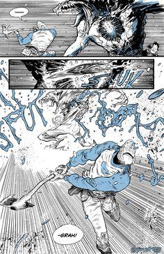 A Sci-Fi Webcomic by Daniel Warren Johnson Comic Book Layout, Comic Book Pages, Comic Books Art, Comic Art, Bd Comics, Manga Comics, Comic Tutorial, Undertale Cute, Cyberpunk Art