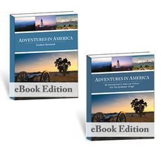 **eBooks are non-refundable** Adventures in America includes 36 weeks of lesson plans for history to use with your kindergarten or early elementary student.