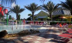 The pool at Sandoval, Cape Coral, Florida.  Live where you always feel like you're on vacation!