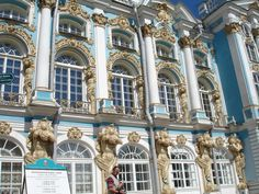 St. Petersburg-Catherine's palace outside