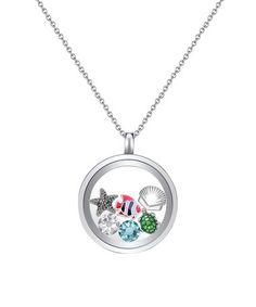 Love this Swarovski® Crystal Under the Sea Pendant Necklace Set on #zulily! #zulilyfinds
