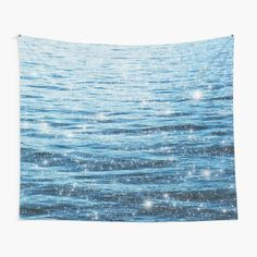 """Ocean Vintage Sparkly Aesthetic"" Tapestry by ind3finite 