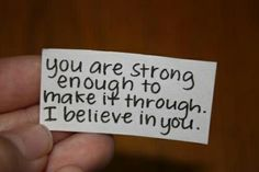 """#FPC Blog. Never underestimate the power of four simple words. """"I Believe in You"""""""