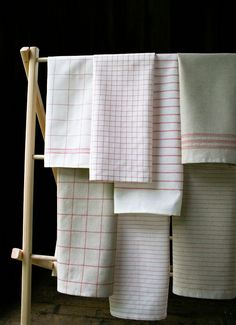 Corinnes Thread: Vintage Tea Towels - The Purl Bee - Knitting Crochet Sewing Embroidery Crafts Patterns and Ideas!
