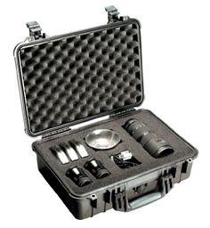 Amazon.com: Pelican 1150-000-110 1150 Case with Foam Small DSLR Camera Case (Black): Camera & Photo