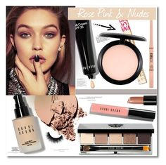 """""""Rose Pink & Nudes"""" by chocolate-addicted-angel ❤ liked on Polyvore featuring beauty, tarte, NYX, Bobbi Brown Cosmetics, Stila, Juicy Couture and MAC Cosmetics"""