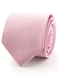 Stropdas 100% zijde uni licht roze   Stropdassen al vanaf € 15,95. Gratis…