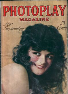 September 1915 Photoplay Anita Stewart Armstrong Cover Mary P Ickford | eBay