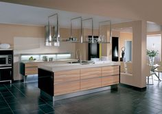kitchens without handles - Google Search