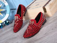 VISIT --> http://playertronics.com/products/new-rivets-men-shoes-handmade-men-studded-loafers-fashion-leather-slippers-men-party-wedding-dress-shoes-mens-flats-moccasins/ http://playertronics.com/products/new-rivets-men-shoes-handmade-men-studded-loafers-fashion-leather-slippers-men-party-wedding-dress-shoes-mens-flats-moccasins/
