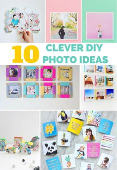 10 Clever DIY ways to frame your favorite family photos!