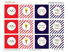 Free Olympic Printables creation parti, olymp parti, birthday olymp, mirabell creation, parties, summer olymp, olymp printabl, party printables, free printabl