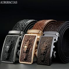 Airgracias Belts  ebay  Fashion Cowhide Leather, Leather Belts, Leather  Men, Men s 843ded721e3