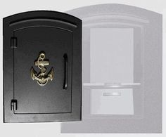 Manchester with security option, Decorative Anchor, Black
