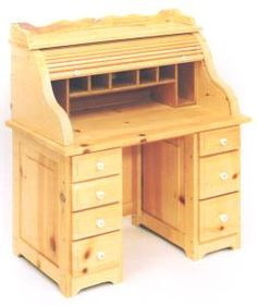 Child 39 S Roll Top Desk Plans Woodworking And Patterns By