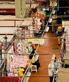 Mercado Libertad, Guadalajara, Mexico Traditional clay cookware, massive copper pots, and handmade leather huaraches.